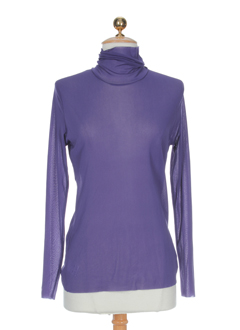 aldo et martin et s manches et longues et 1 femme de couleur violet (photo)