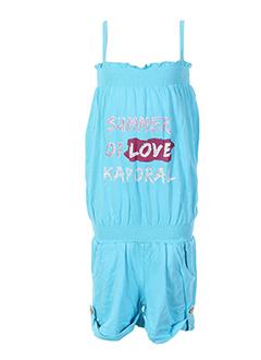 kaporal combi et shorts fille de couleur bleu (photo)