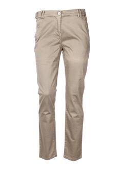stella et forest pantalons et decontractes femme de couleur beige