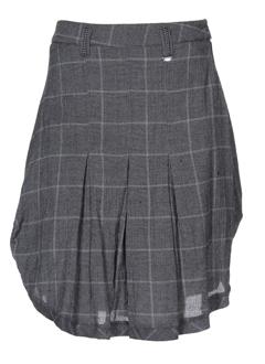 a et dress et concept jupes et mi et longues femme de couleur gris (photo)