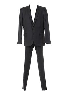 christian et lacroix pantalon et veste homme de couleur gris (photo)