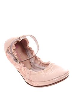 fornarina ballerines femme de couleur rose