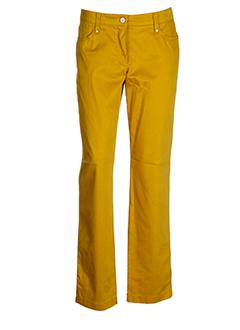 bianca pantalons et decontractes femme de couleur jaune