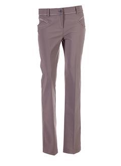 lasagrada pantalons et citadins femme de couleur marron