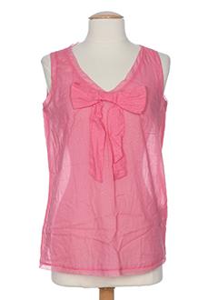 0039 et italy tops femme de couleur rose (photo)