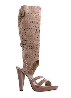 valentino et moda bottes femme de couleur rose