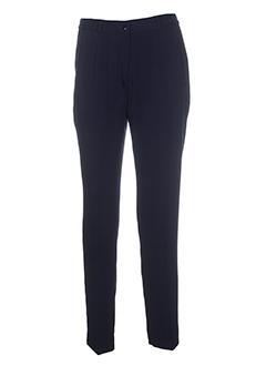 parisiennes pantalons et citadins femme de couleur bleu