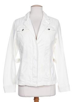 mcs vestes femme de couleur blanc