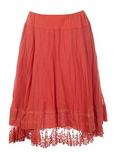 3322 jupes et mi et longues femme de couleur rouge (photo)