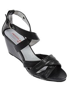feminin et pluriel et by et soymar sandales et nu et pieds femme de couleur noir