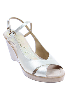 unisa sandales et nu et pieds femme de couleur beige