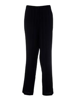 lisa et chesnay pantalons et decontractes femme de couleur noir