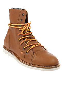 hub boots femme de couleur marron