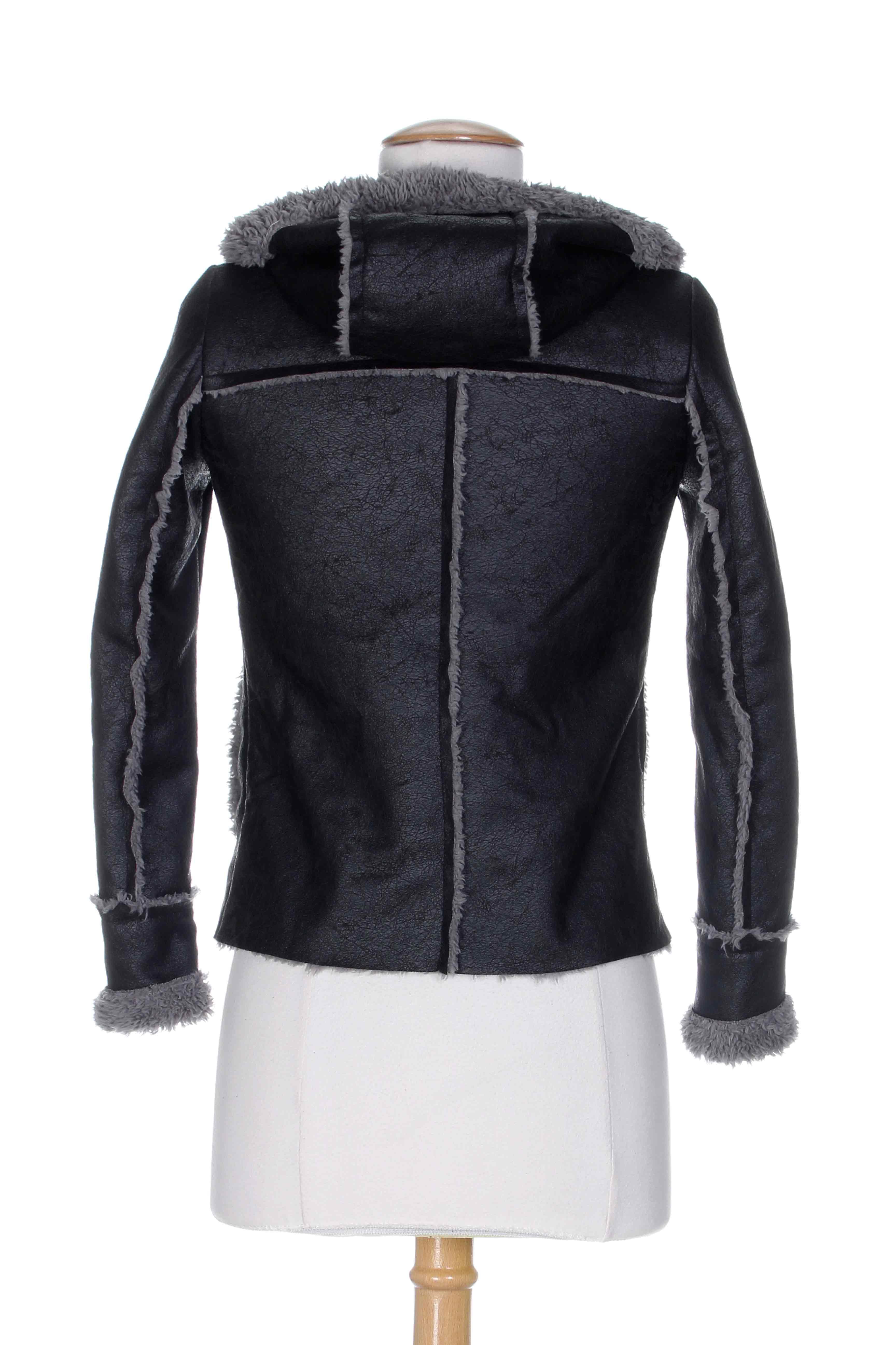 La fee maraboutee manteaux courts fille de couleur gris en soldes pas cher 64 - Fee maraboutee soldes ...
