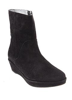 adige bottines femme de couleur noir