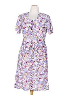 20 et 20 robes et longues femme de couleur violet (photo)