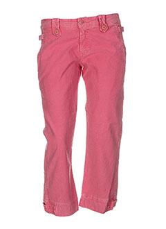 40weft pantacourts et decontractes femme de couleur rose (photo)