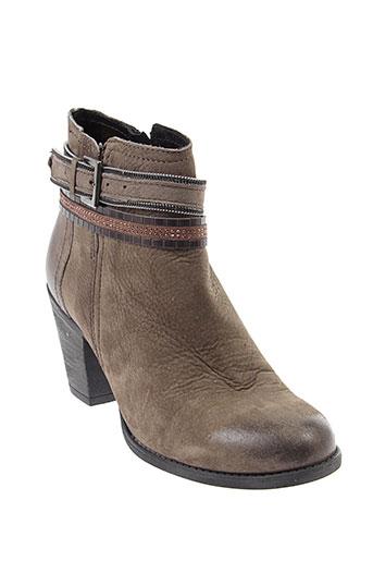 arima boots femme de couleur marron