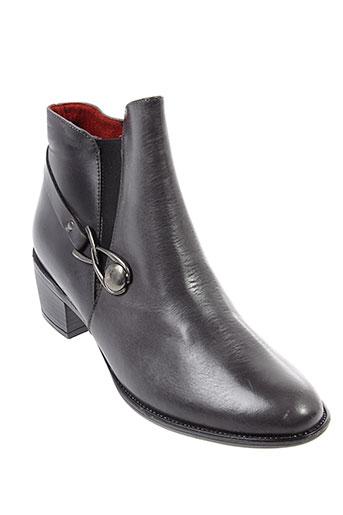 pomares et vazquez boots femme de couleur gris