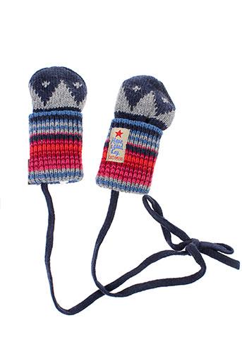 catimini echarpes et gants garcon de couleur bleu
