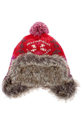 catimini chapeaux et bonnets fille de couleur rouge