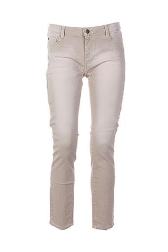 acquaverde jeans et coupe et slim femme de couleur rose (photo)