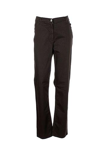 marina et rinaldi pantalons et decontractes femme de couleur marron
