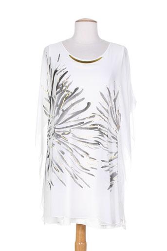 alain et murati tuniques femme de couleur blanc (photo)