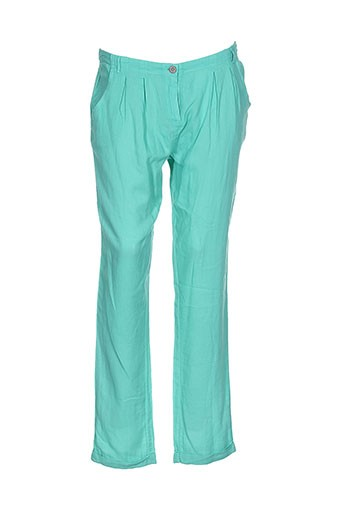 yerse pantalons et decontractes femme de couleur vert