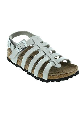 betula sandales et nu et pieds fille de couleur gris