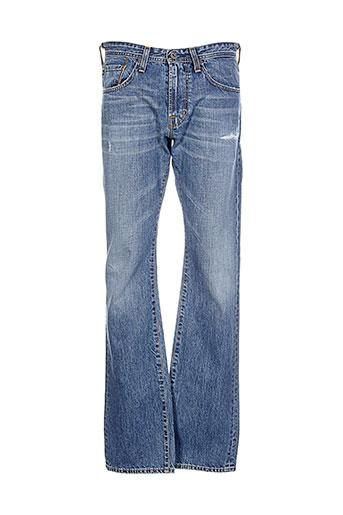 adriano et goldschmied jeans et coupe et droite homme de couleur bleu (photo)