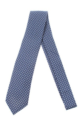 breuer cravates homme de couleur bleu