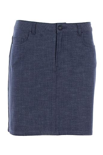 a et p et c jupes et courtes femme de couleur bleu (photo)