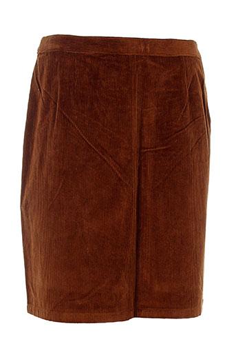 a et p et c jupes et courtes femme de couleur marron (photo)