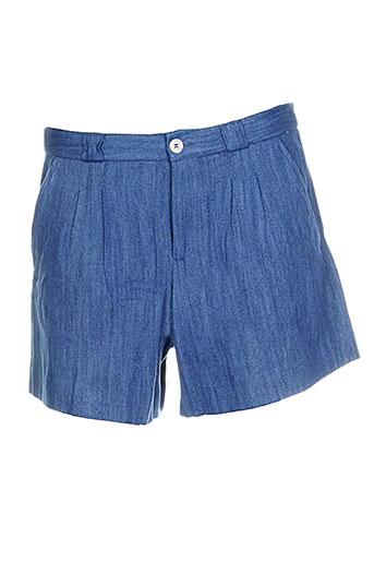 a et p et c shorts et 1 femme de couleur bleu (photo)