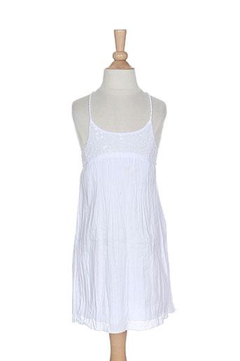 3 et pommes robes et mi et longues fille de couleur blanc (photo)