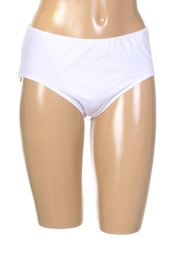 eclizia et by et lilly slips et culottes femme de couleur blanc