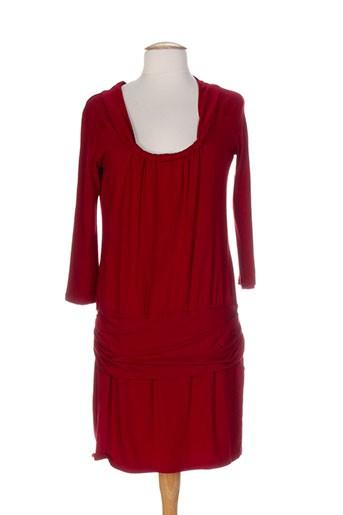 2 et two robes et mi et longues femme de couleur rouge (photo)