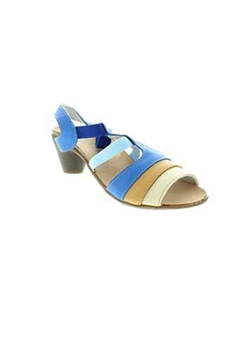 bran et s sandales et nu et pieds femme de couleur bleu