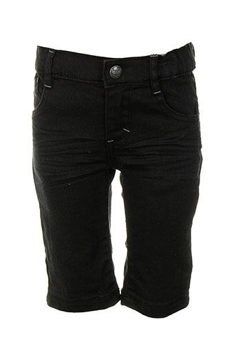 absorba bermudas garcon de couleur noir (photo)