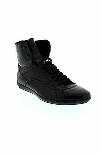hugo et boss boots homme de couleur noir