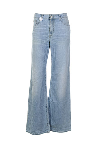 acne et studios jeans et coupe et large femme de couleur bleu (photo)