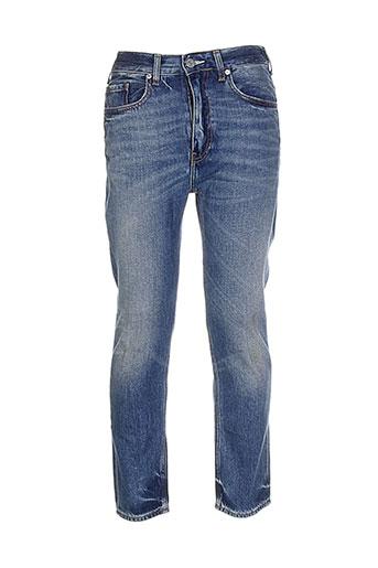 acne et studios jeans et coupe et slim homme de couleur bleu (photo)