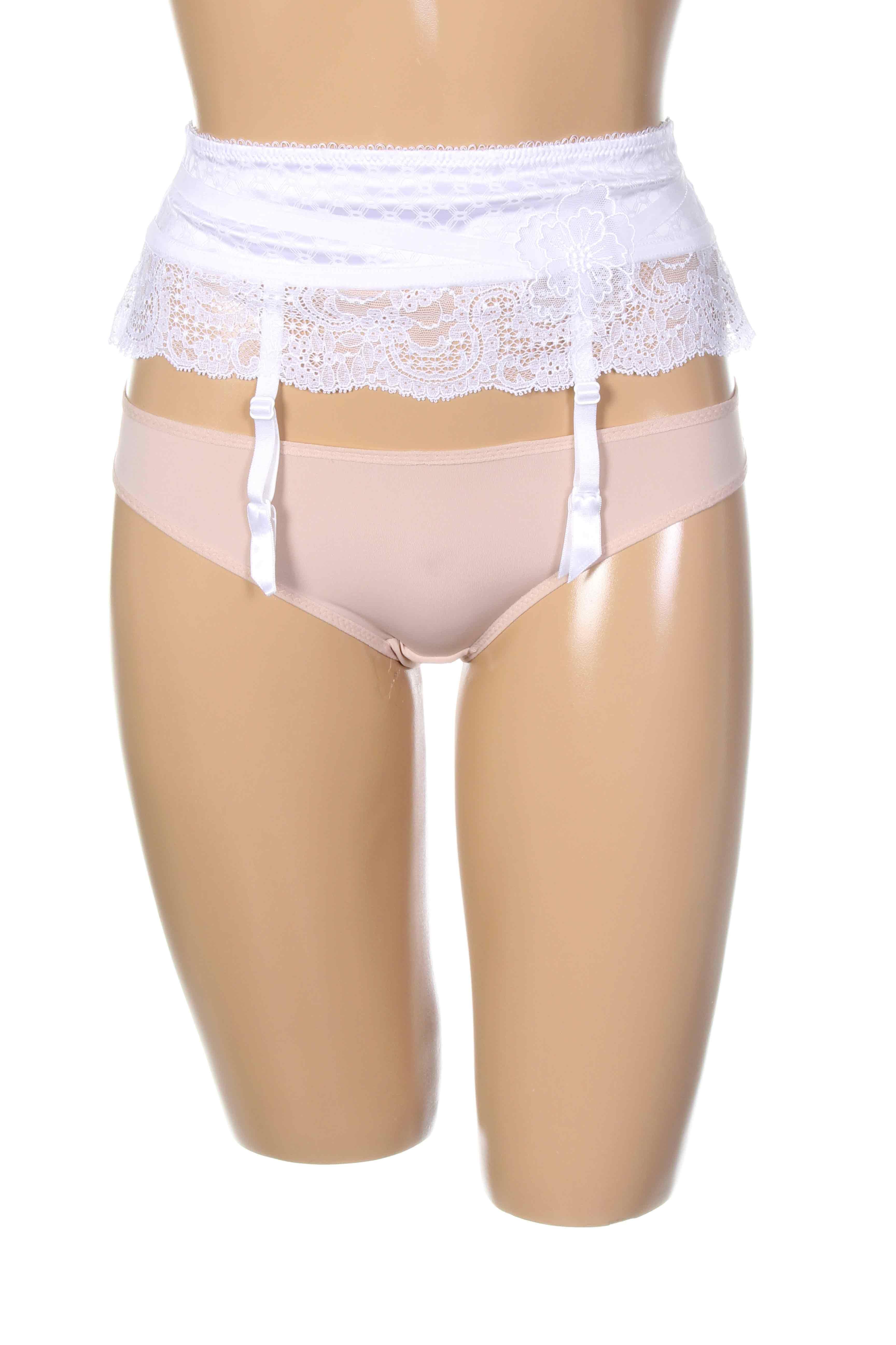 Aubade guepieres porte jarretelles femme de couleur blanc - Photos de femmes en porte jarretelles ...