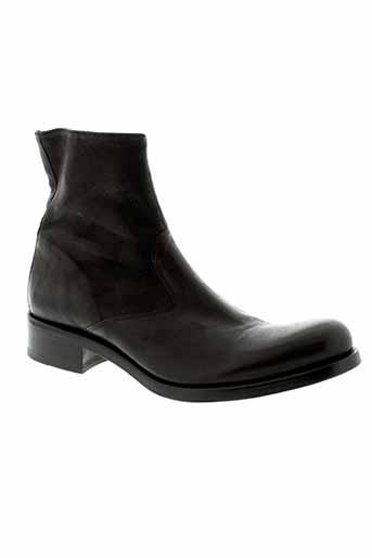 jean et bastiste et rautureau boots homme de couleur noir