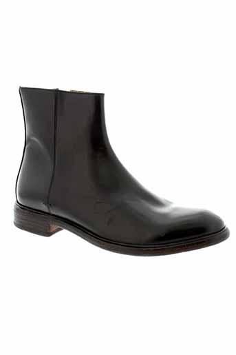 paul et smith boots homme de couleur noir