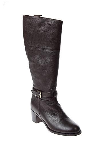 maxmara bottes femme de couleur marron