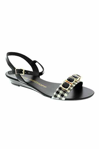 jorge et bischoff sandales et nu et pieds femme de couleur noir