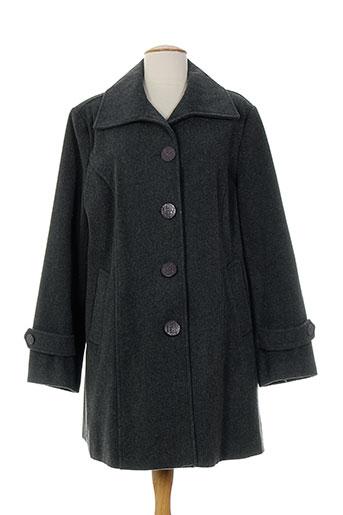 20 et 20 manteaux et courts femme de couleur gris (photo)