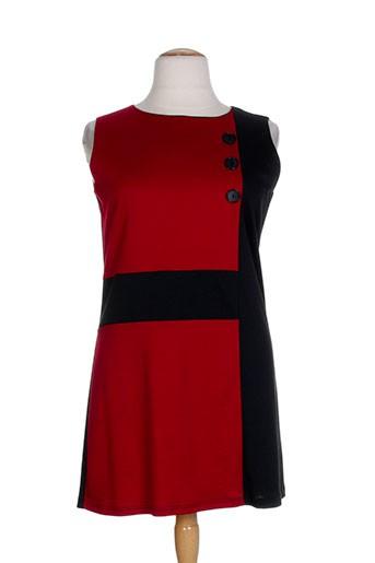 20 et 20 robes et mi et longues femme de couleur rouge (photo)